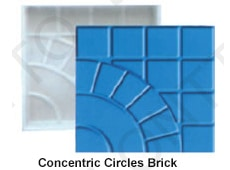 Concentric Circles Brick