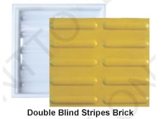 Double Blind Stripes Brick