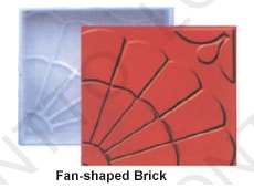 Fan-shaped Brick
