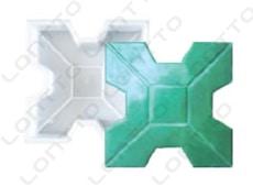 X Type grass brick