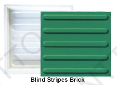 Blind Stripes Brick