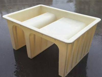 CONCRETE CABLE GROOVE MOLD 400X300-2