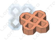 Double 8 grass brick