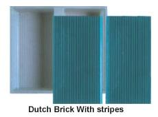 Dutch brick with stripes