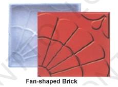 Fan-shaped Brick