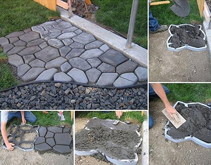 Diy Garden Paver Mold